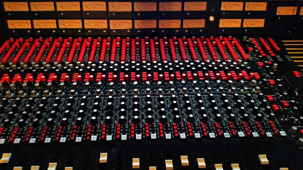 1973 MCI JH416B Recording Console @ Zero Art Studio
