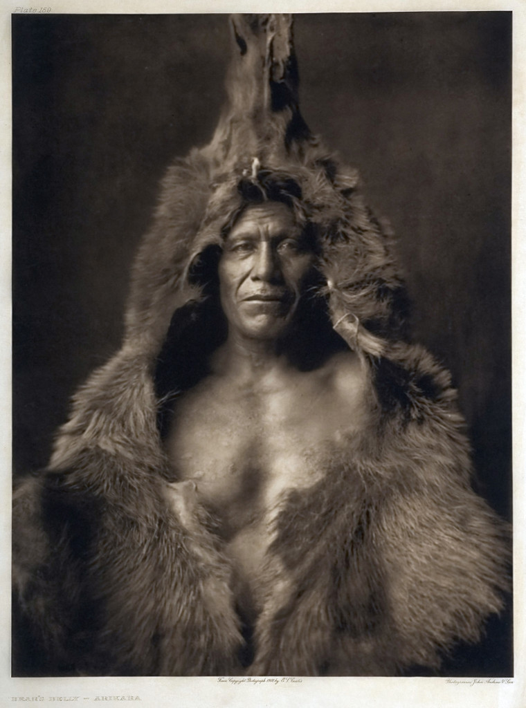 Edward Curtis - Bear's Belly - 1908